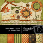 Naturally Mini Pack-$4.00 (Designs by Krista)