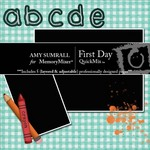 First Day QuickMix-$3.00 (Amy Sumrall)