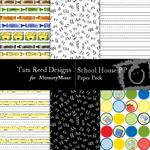 School House Paper Pack-$3.00 (Tara Reed Designs)
