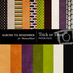 Trick or Treat Paper Pack-$4.00 (Albums to Remember)