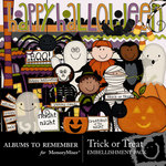 Trick or Treat Embellishment Pack-$3.00 (Albums to Remember)