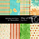 A Day of Bliss Paper Pack 1-$3.50 (Melissa Nuttall)