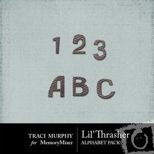 Tracimurphy lilthrasher alphabets medium
