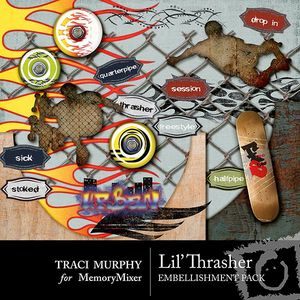 Tracimurphy lilthrasher embellishments medium
