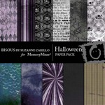 Halloween Paper Pack-$3.99 (Bisous By Suzanne Carillo)