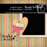 Ready Set Blow QuickMix-$4.49 (Karen Lewis)