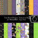 School of Magic Paper Pack-$4.00 (Tara Reed Designs)