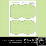 Pillow box mini small
