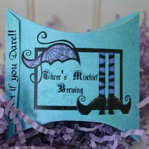 Pillow invitation medium