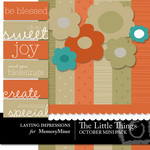 The Little Things October Mini Pack-$3.00 (Lasting Impressions)