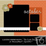 The Little Things October QuickMix-$3.00 (Lasting Impressions)