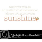 The Little Things Freebie WordArt 37-$0.00 (Lasting Impressions)