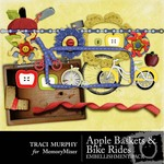 Baskets and Bike Rides Embellishment Pack-$2.50 (Traci Murphy)