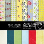 Baskets and Bike Rides Paper Pack-$4.00 (Traci Murphy)