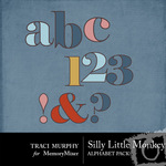 Silly Monkey Alphabet Pack-$1.00 (Traci Murphy)