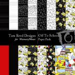 Off to School Paper Pack-$3.99 (Tara Reed Designs)