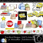 Off to School Embellishment Pack-$3.00 (Tara Reed Designs)