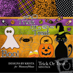 Trick or Treat Mini Pack-$3.00 (Designs by Krista)