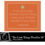 The Little Things Freebie WordArt 38-$0.00 (Lasting Impressions)