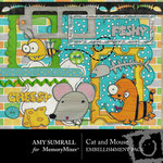 Cat and Mouse Embellishment Pack-$3.00 (Amy Sumrall)