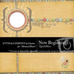 New Beginnings QuickMix-$5.00 (Ettes and Company by Fayette)