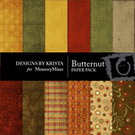 Butternut Paper Pack-$3.99 (Designs by Krista)