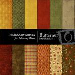 Butternut Paper Pack-$3.99 (Designs by Krista)