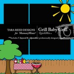 Grill Baby Grill QuickMix-$3.99 (Tara Reed Designs)