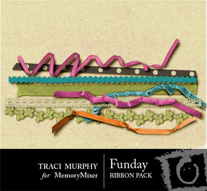 Funday ribbon pack medium