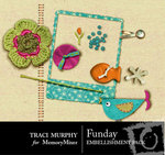 FunDay Embellishment Pack-$2.00 (Traci Murphy)