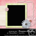 Promise Of Spring QuickMix-$4.00 (Julie Klaus)