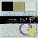 Blue Blooms QuickMix-$4.00 (Amy Sumrall)