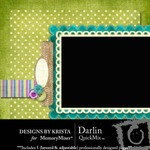 Darlin QuickMix-$4.00 (Designs by Krista)