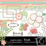Fresh Embellishment Pack-$2.99 (Karen Lewis)