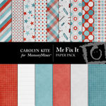 Mr Fix It Paper Pack-$2.00 (Carolyn Kite)