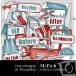 Mr Fix It Embellishment Pack-$2.99 (Carolyn Kite)