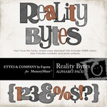 Reality Bytes Alphabet Pack-$2.50 (Ettes and Company by Fayette)