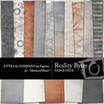 Reality Bytes Paper Pack-$4.00 (Fayette Designs)