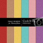 Cook It Up Solid Paper Pack-$1.99 (Traci Murphy)