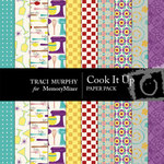 Cook It Up Paper Pack-$2.00 (Traci Murphy)