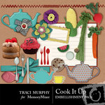 Cook It Up Embellishment Pack-$1.25 (Traci Murphy)