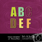 It's a Jungle Alphabet Pack-$1.00 (Traci Murphy)