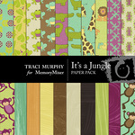 It's a Jungle Paper Pack-$4.00 (Traci Murphy)