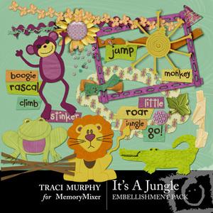 Its a jungle emb medium