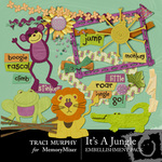 It's a Jungle Embellishment Pack-$3.00 (Traci Murphy)