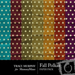 Fall Polka Paper Pack-$3.99 (Traci Murphy)