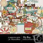 My Boy Embellishment Pack CK-$2.49 (Carolyn Kite)
