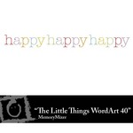 The Little Things Freebie WordArt 40-$0.00 (Lasting Impressions)