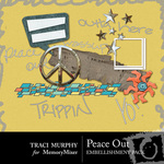 Peace Out Embellishment Pack-$2.50 (Traci Murphy)