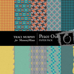 Peace Out Paper Pack-$4.00 (Traci Murphy)